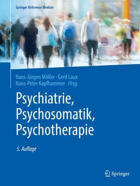Möller / Laux / Kapfhammer | Psychiatrie, Psychosomatik, Psychotherapie, 4 Bde. | Buch | sack.de