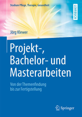 Klewer   Projekt-, Bachelor- und Masterarbeiten   Buch   sack.de
