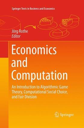 Rothe   Economics and Computation   Buch