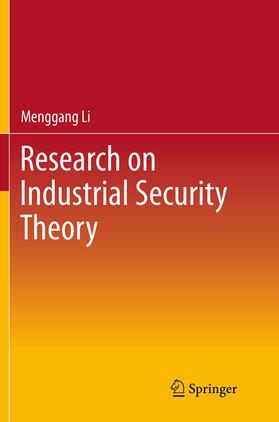 Li | Research on Industrial Security Theory | Buch | sack.de