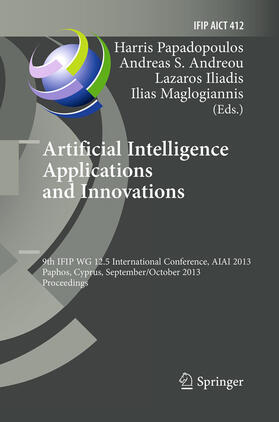 Papadopoulos / Andreou / Iliadis   Artificial Intelligence Applications and Innovations   Buch   sack.de