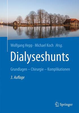 Hepp / Koch   Dialyseshunts   Buch   sack.de