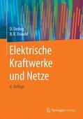Oswald / Oeding |  Elektrische Kraftwerke und Netze | Buch |  Sack Fachmedien