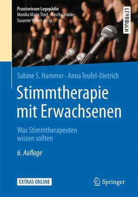 Hammer / Teufel-Dietrich | Stimmtherapie mit Erwachsenen | Buch | sack.de
