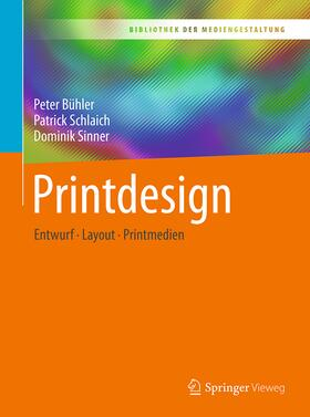 Bühler / Schlaich / Sinner | Printdesign | Buch | sack.de