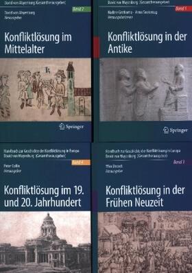 von Mayenburg / Seelentag / Decock   Handbuch zur Geschichte der Konfliktlösung in Europa   Buch   sack.de