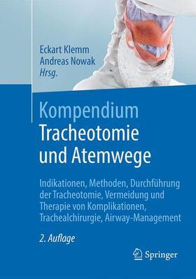 Klemm / Nowak | Kompendium Tracheotomie und Atemwege | Buch | sack.de