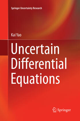 Yao | Uncertain Differential Equations | Buch