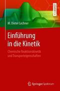 Lechner |  Einführung in die Kinetik | Buch |  Sack Fachmedien