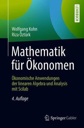 Kohn / Öztürk   Mathematik für Ökonomen   Buch   sack.de