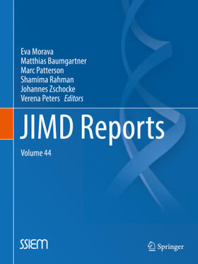 Morava / Baumgartner / Patterson   JIMD Reports, Volume 44   Buch   sack.de