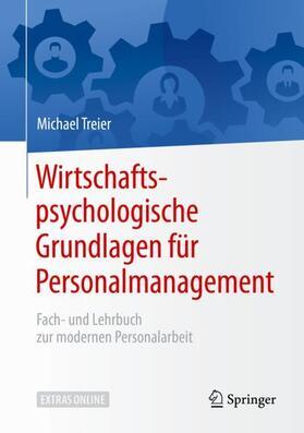 Treier | Wirtschaftspsychologische Grundlagen für Personalmanagement | Buch | sack.de