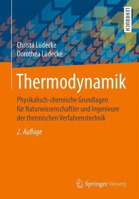 Lüdecke / Lüdecke | Thermodynamik | Buch | sack.de