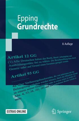 Epping | Grundrechte | Buch | sack.de