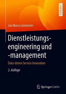 Leimeister | Dienstleistungsengineering und -management | Buch | sack.de