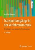 Kraume |  Transportvorgänge in der Verfahrenstechnik | Buch |  Sack Fachmedien