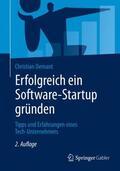 Demant Erfolgreich ein Software-Startup gründen | Sack Fachmedien
