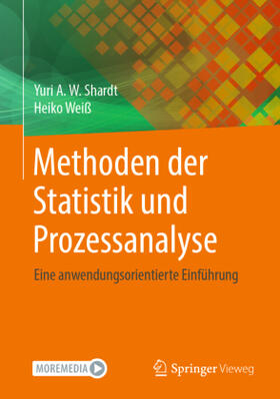 Shardt / Weiß   Methoden der Statistik und Prozessanalyse   Buch   sack.de