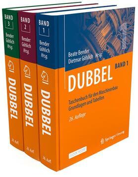 Bender | Dubbel Taschenbuch für den Maschinenbau Band 1-3 | Buch | sack.de