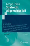 Gropp / Sinn |  Strafrecht  Allgemeiner Teil | Buch |  Sack Fachmedien