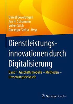 Beverungen / Strina / Stich | Dienstleistungsinnovationen durch Digitalisierung | Buch | sack.de