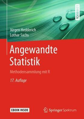 Hedderich / Sachs | Angewandte Statistik, m. 1 Buch, m. 1 E-Book | Buch | sack.de