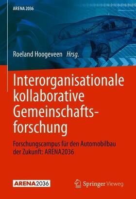 Hoogeveen | Interorganisationale kollaborative Gemeinschaftsforschung | Buch | sack.de