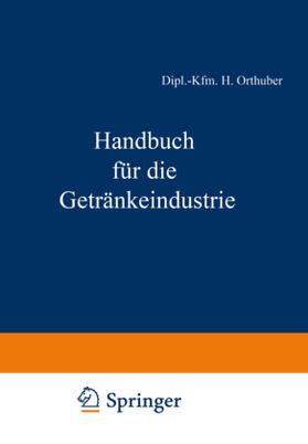 Bachem / Büchner / Fell   Handbuch für die Getränkeindustrie   Buch   sack.de