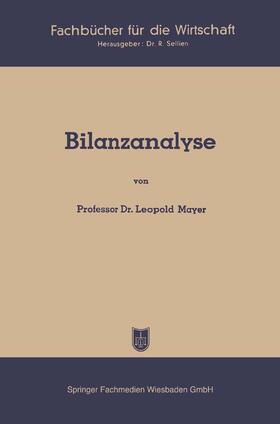 Mayer   Bilanzanalyse   Buch   sack.de