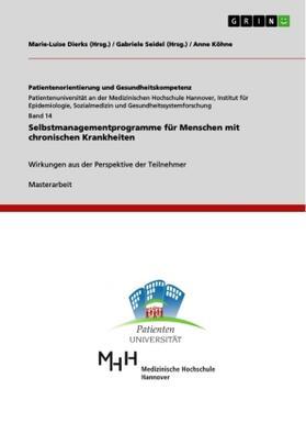 Selbstmanagementprogramme für Menschen mit chronischen Krankheiten | Buch | sack.de