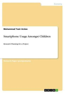 Arslan | Smartphone Usage Amongst Children | Buch | sack.de