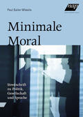 Sailer-Wlasits |  Minimale Moral | Buch |  Sack Fachmedien