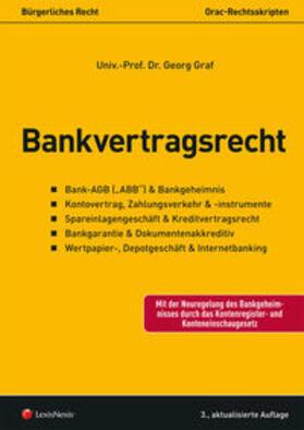 Graf | Bankvertragsrecht (f. Österreich) | Buch | sack.de
