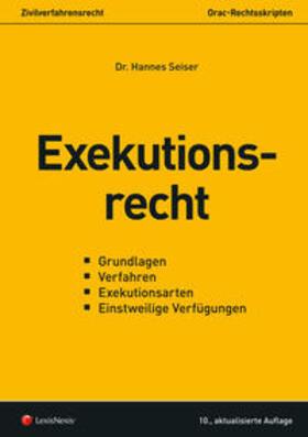 Seiser | Exekutionsrecht (f. Österreich) | Buch | sack.de
