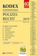 KODEX Polizeirecht 2019