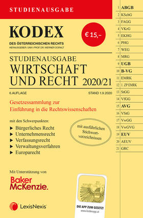 Doralt | KODEX Wirtschaft und Recht 2020/21 | Buch | sack.de