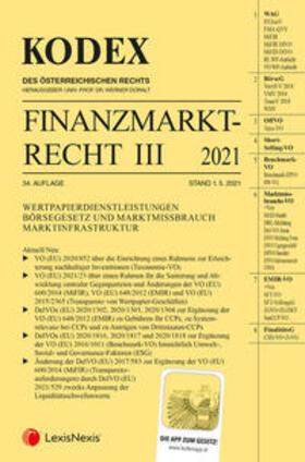 Doralt | Kodex Finanzmarktrecht Band III 2021 | Buch | sack.de