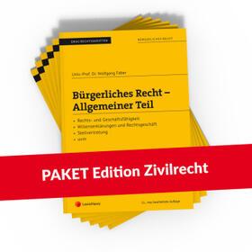 Böhm / Brandstätter / Faber | PAKET Edition Zivilrecht PLUS | Buch | sack.de