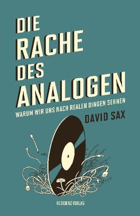 Sax | Die Rache des Analogen | Buch | sack.de