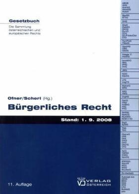 Ofner / Scherl   Bürgerliches Recht   Buch   sack.de