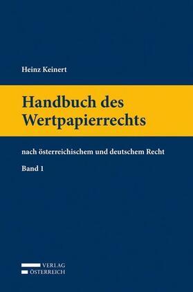Keinert | Handbuch des Wertpapierrechts | Buch | sack.de