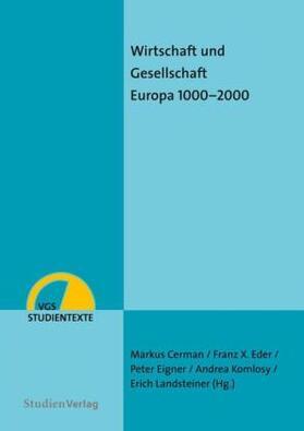Cerman / Eder / Eigner | Wirtschaft und Gesellschaft | Buch | sack.de