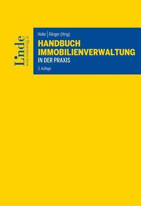 Hofer / Klinger | Handbuch Immobilienverwaltung in der Praxis | Buch | sack.de