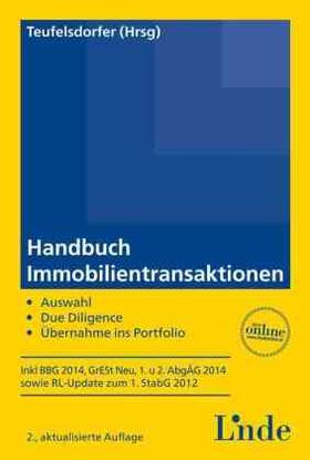 Fischer / Foerster / Fuhrmann   Handbuch Immobilientransaktionen (f. Österreich)   Buch   sack.de