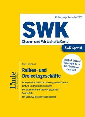 Mayr / Weinzierl   SWK-Spezial Reihen- und Dreiecksgeschäfte   Buch   sack.de