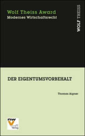Aigner | Der Eigentumsvorbehalt | Buch | sack.de