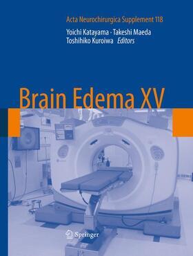 Katayama / Kuroiwa / Maeda | Brain Edema XV | Buch | sack.de