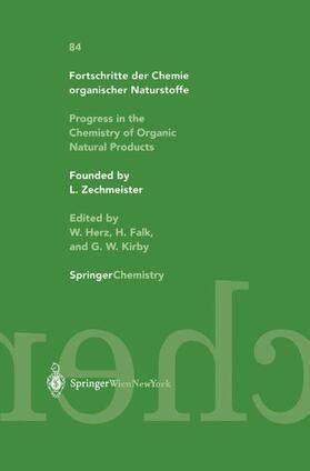 Glasenapp-Breiling / Jagtap / Kingston   Progress in the Chemistry of Organic Natural Products / Fortschritte der Chemie organischer Naturstoffe   Buch   sack.de