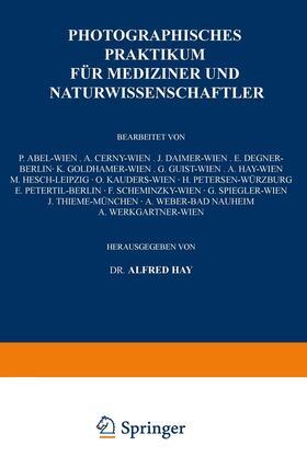 Hay / Cerny / Daimer | Photographisches Praktikum für Mediziner und Naturwissenschaftler | Buch | sack.de