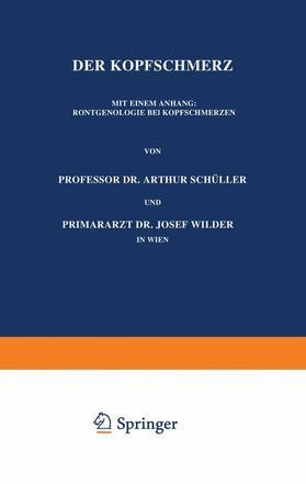 Schüller / Wilder | Der Kopfschmerz | Buch | sack.de